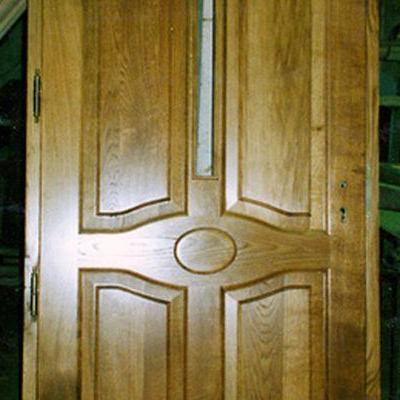 Drewniane drzwi 10
