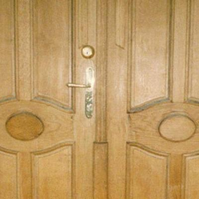 Drewniane drzwi 6