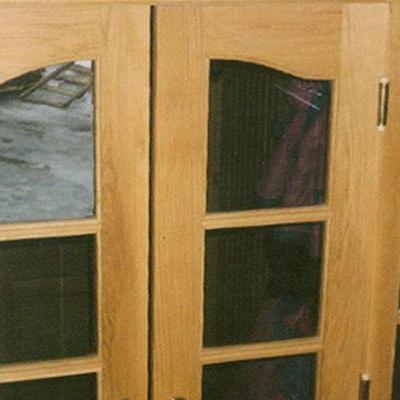 Drewniane drzwi 5