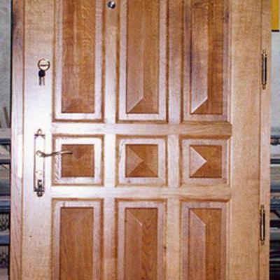Drewniane drzwi 2