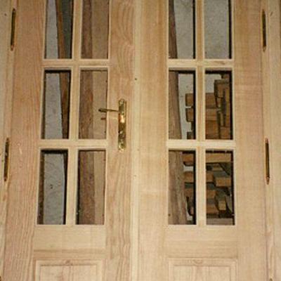 Drewniane drzwi 1