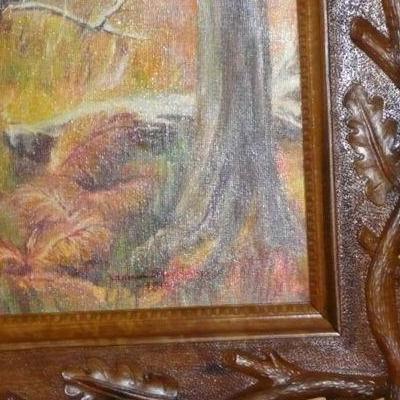 Obraz z drewnianą ramką 2