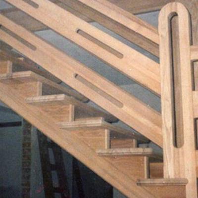 Drewniane schody 1