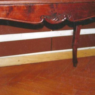 Drewniany stół 1