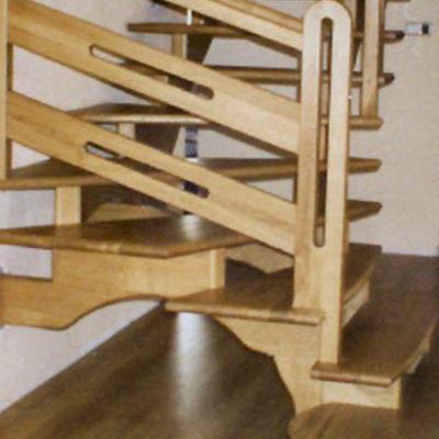 Drewniane schody 92