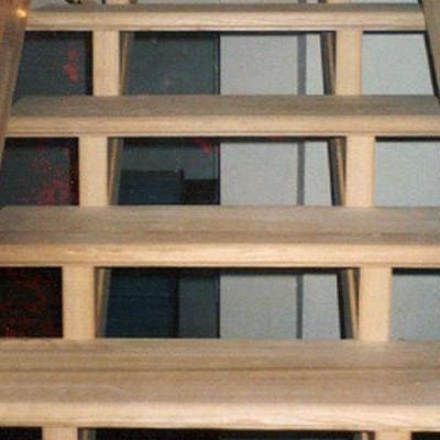 Drewniane schody 91
