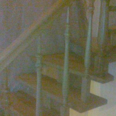 Drewniane schody 86