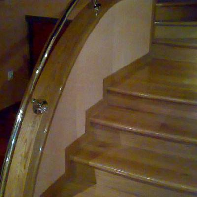 Drewniane schody 85