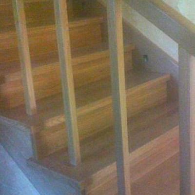 Drewniane schody 82
