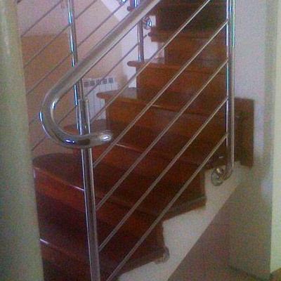 Drewniane schody 77