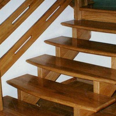 Drewniane schody 74