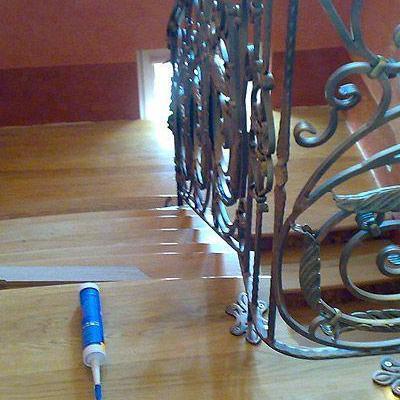 Drewniane schody 60
