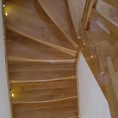 Drewniane schody 57