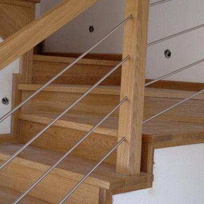 Drewniane schody 55