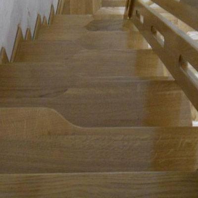 Drewniane schody 48