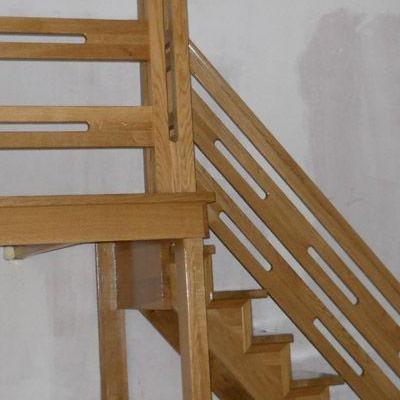 Drewniane schody 46