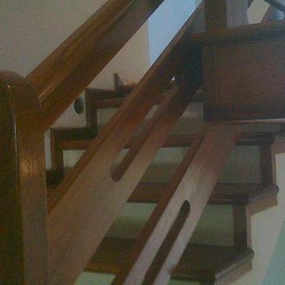 Drewniane schody 44