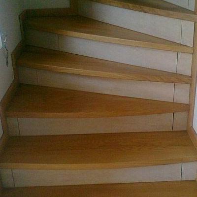Drewniane schody 40