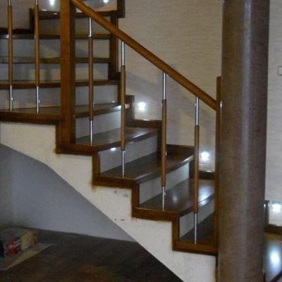 Drewniane schody 37