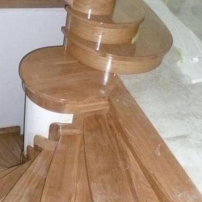 Drewniane schody 30