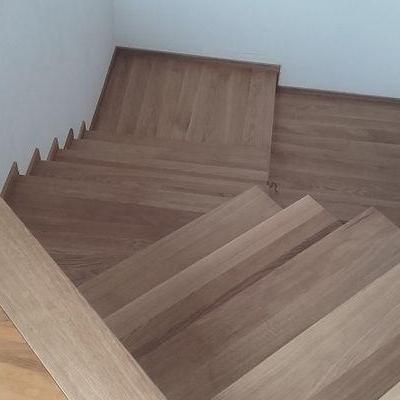 Drewniane schody 22