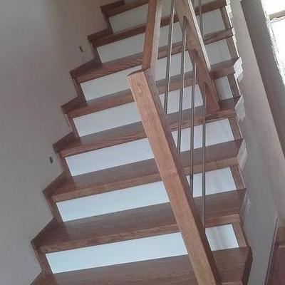 Drewniane schody 19