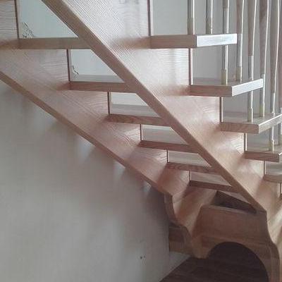 Drewniane schody 11