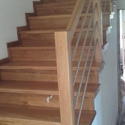 Drewniane schody 12