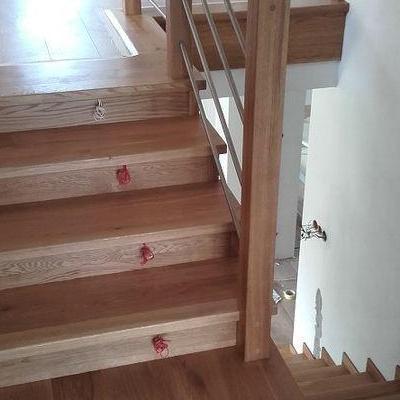 Drewniane schody 10