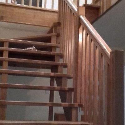 Drewniane schody 2
