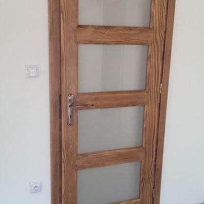 drzwi z drewna sosnowego 10