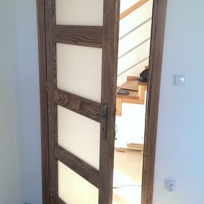 drzwi z drewna sosnowego 11